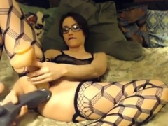 hottie-with-glasses-fucks-2-dildos