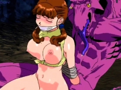 Hentai Girls Rope By Monster Cock