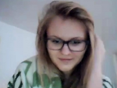 blonde-teen-with-glasses-shows-off-on-webcam