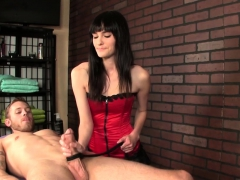 cbt-masseuse-wanking-clients-cock