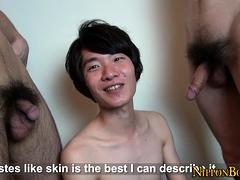 Asian Teen Twink Threeway
