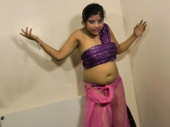 gujarati sexy babe rupali dirty talking and stripping show