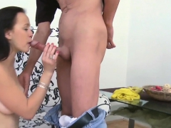 Fascinating Young Sweetie Is Fascinated To Ride Old Hard Rod
