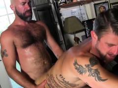 Gay Stud Rides Cock Raw