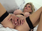 British Sonia lets one of her biggest fans fuck her MILF