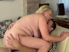 Horny Mature Woman Gets Fucked Hard
