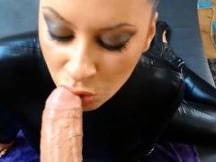 sexy-spandex-catsuit-blowjob