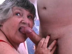 80 year old grandma libby nails young lad