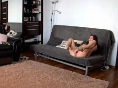 Hidden Camera Amateur Fingering And Using Huge Toy In Her