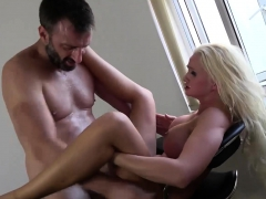 Facefucked sub roughly fucked in maledom trio 2