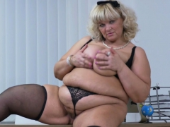 euro-bbw-dita-works-her-pussy-with-fingers-and-dildo