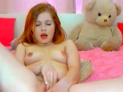 pregnant redhead webcam masturbation