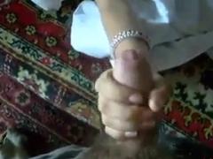 Shy Girl Sucks Her Boyfriend's Cock
