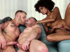 Bisexual Guys Swap Cum