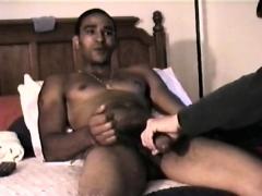 Straight Boy Jose Gets a Handjob