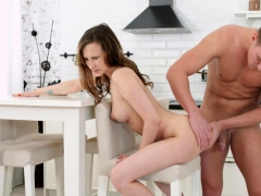 Brown Haired Honey Is Fucked By Her Boyfriend