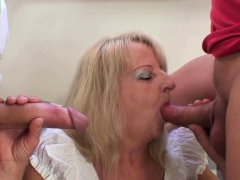 two-guys-bang-boozed-blonde-granny