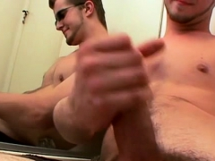 Fit Twink Potter Jerking His Dick For That Burst Of Hot Jizz