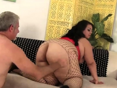 Lovely Large Slut Tit Fucks And Cunt Fucks A Guy