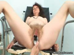 Horny And Hairy Grandma Gets Her Pussy Part2
