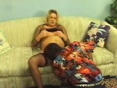 Blonde Pregnant Mom Fucked Hard