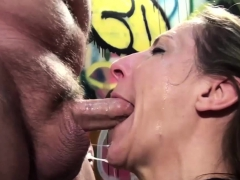 beautiful slut likes to suck a penis