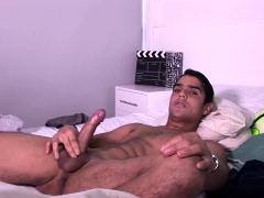 Latin Boy Adriel Jacking Off