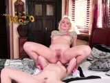Jane shows room mate how to masturbate