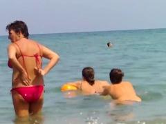 Topless European Teens Voyeur Beach Video Porn Video