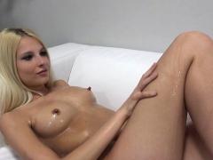 hot bitch casting and cumshot