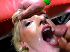 German Goo Girls - Cumshots Compilation Bukkake Best Of
