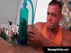 Two hot tattooed hunks assfucking on bed