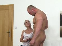 Hot Pornstar Casting With Cumshot