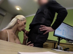 Loan4k. Blonde Beauty Pays With Sex For The Future Of Her… Porn Video