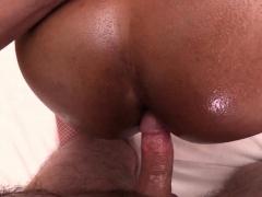 Big Ass Ladyboy Oil Massage Bareback