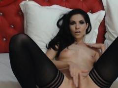 Horny Amateur Sexy Babe Solo Pussy Masturbation
