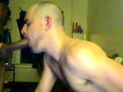 Interracial Muscly Blowjob Gays