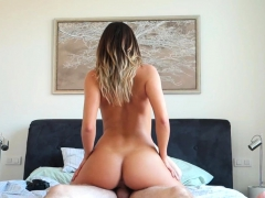 hairy-girlfriend-riding-reverse-cowgirl