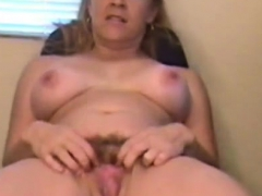 Beautiful And Mature Mom With Big Boobs Fucks A Dildo