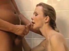 spying-on-roommate-shower-then-blowjob-handjob-facial