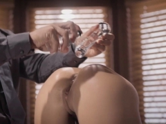 Adriana Chechik Gets Ass Stuffed With Giant Buttplug!