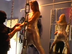 Doxy that wishes pain gets completely tied up and tortured