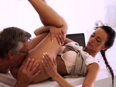 Young Rimming Old Xxx Finally She's Got Her Manager Dick