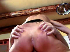 nasty pretty and hairy milf nailed and assfucked