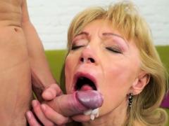 Kinky Grandma Gets Fucked Porn Video
