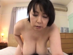 Pretty Older Gets bawdy cleft licked While Giving Tit Fuck