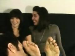 Gangbang With Hot Foot Fetish