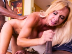 big titted blonde milf cheats with black guys