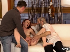 old-man-bdsm-first-time-his-father-came-closer-to-her-and