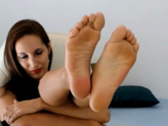foot fetish hd august knight foot tease